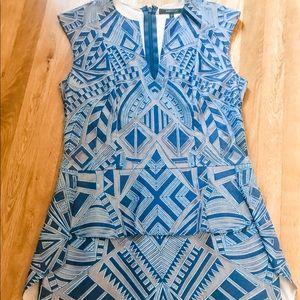 BCBG MaxAzria Dress Size 8 Blue Women's